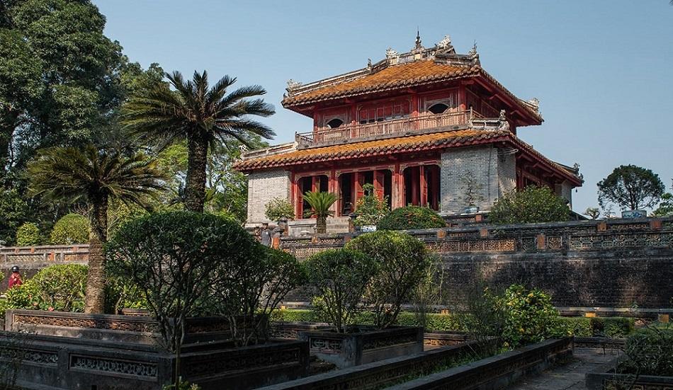 Lăng Minh Mạng, Huế