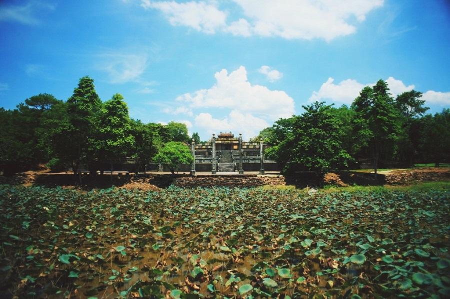 Lăng Thiệu Trị, Huế