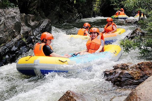 Trượt thác Hoà Phú Thành, Đà Nẵng