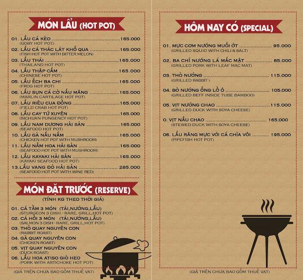 Đặt chỗ tại Khói BBQ Đà Lạt