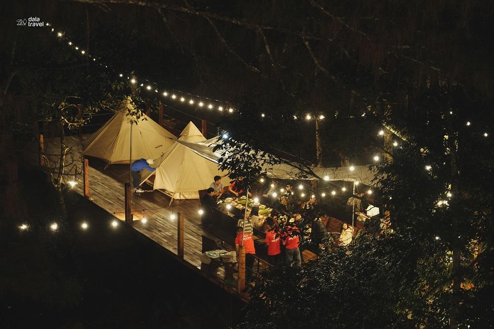 [TGROUP + Dala Travel] Tour cắm trại bên thác nước tại Đà Lạt
