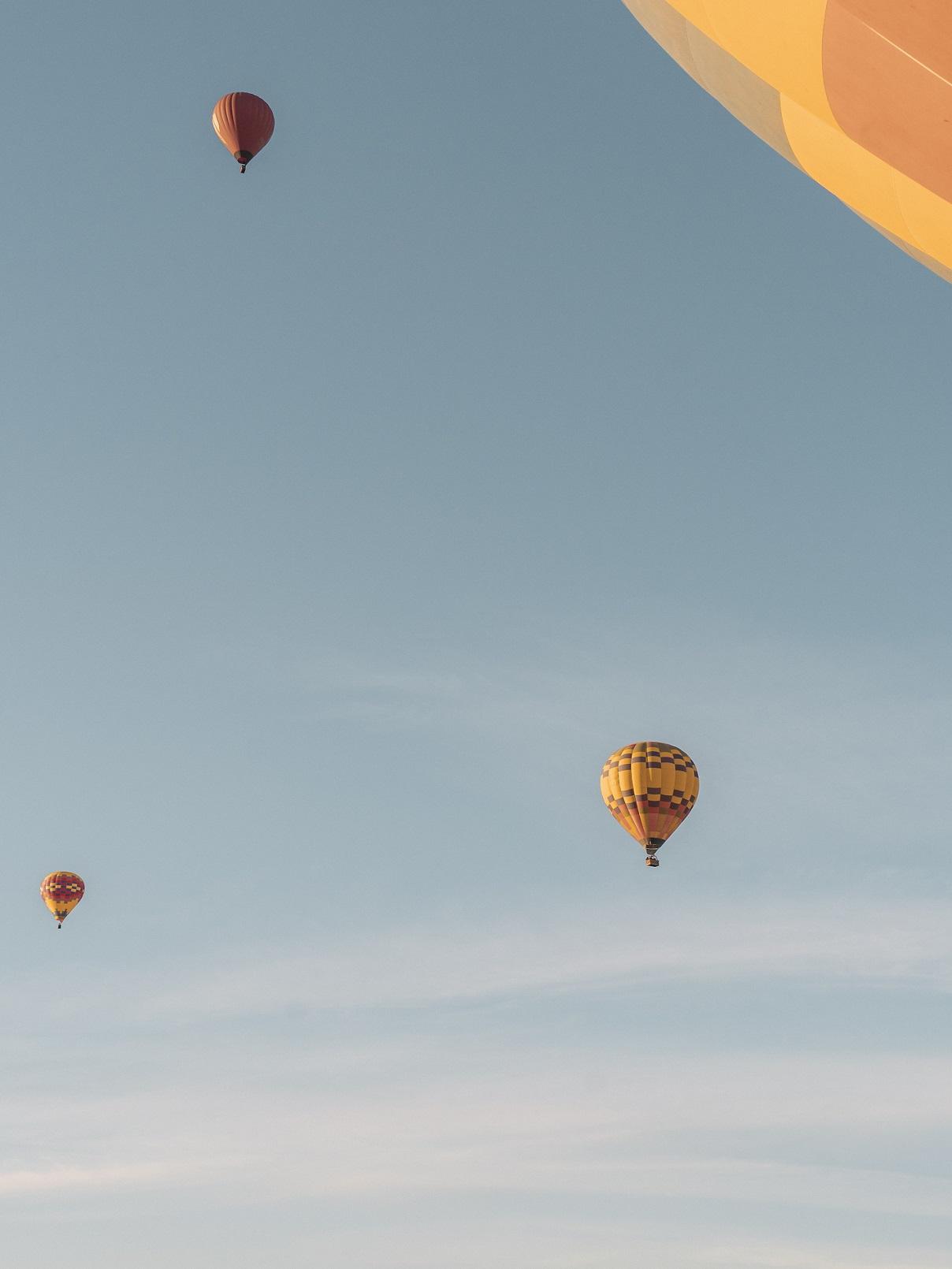 Trải nghiệm bay khinh khí cầu tại Vũng Tàu