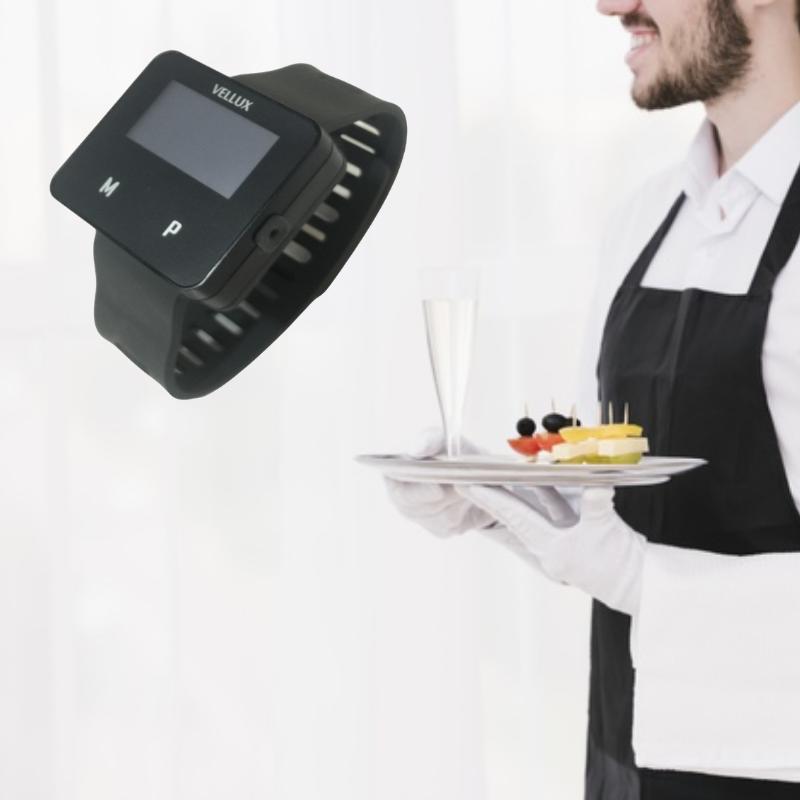 Đồng hồ báo gọi phục vụ VELLUX VHP5 dành cho nhân viên phục vụ, quản lý