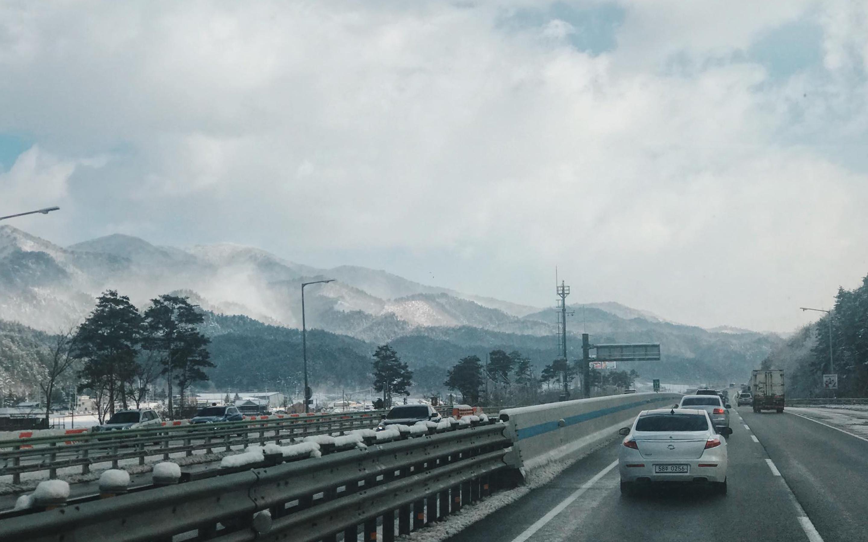 Mùa đông Hàn Quốc