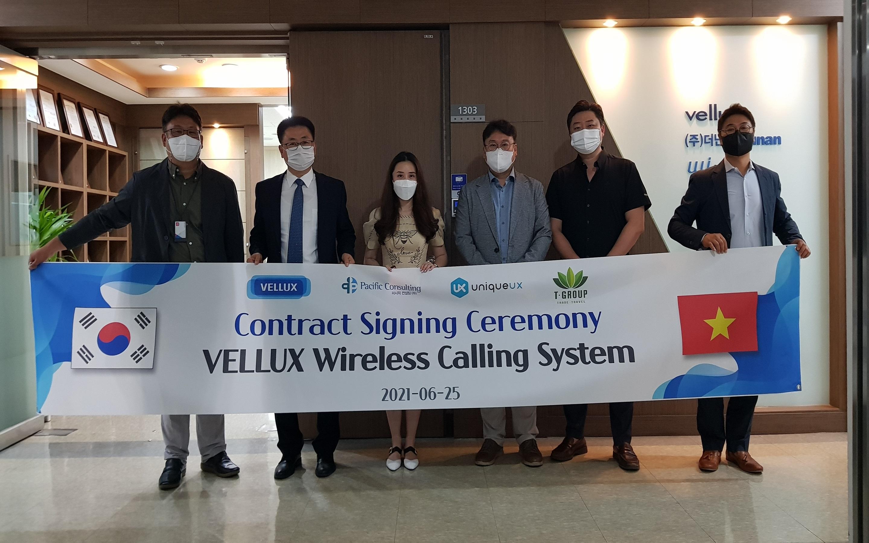 Lễ ký kết giữa TGROUP và VELLUX Hàn Quốc