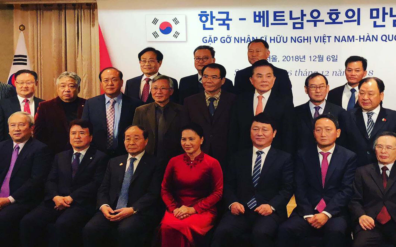 Gặp gỡ nhân sĩ hữu nghị Việt Nam - Hàn Quốc