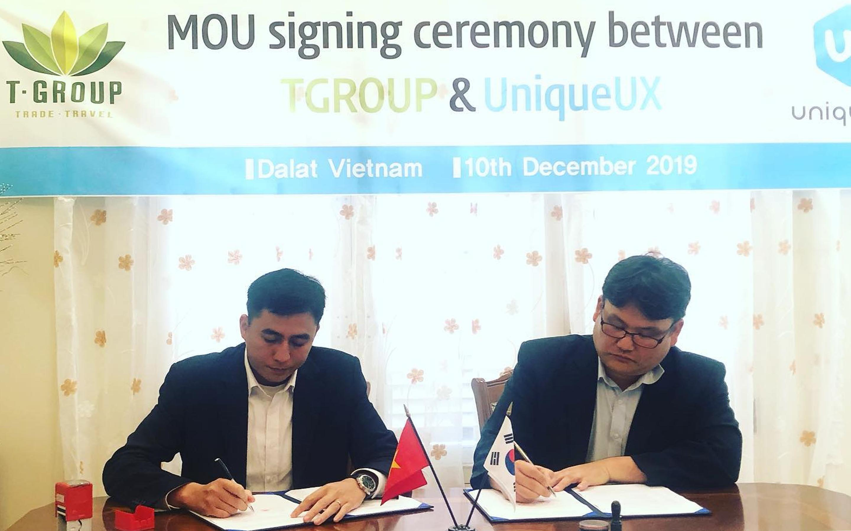 Lễ ký kết MOU giữa TGROUP và UniqueUX