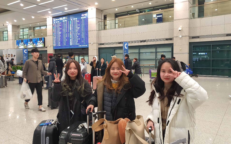 Staff Korea tour