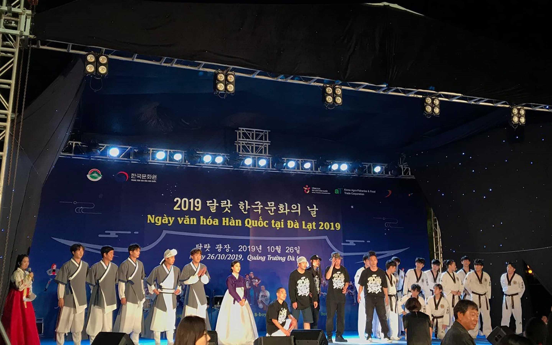 Ngày hội văn hóa Hàn Quốc tại Đà Lạt 2019
