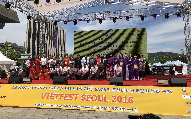 Lễ hội văn hóa Việt Nam lần thứ 8 tại Hàn Quốc