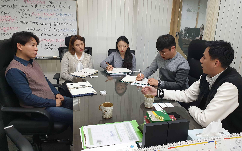 Tgroup cùng đại diện các doanh nghiệp lữ hành Hàn Quốc