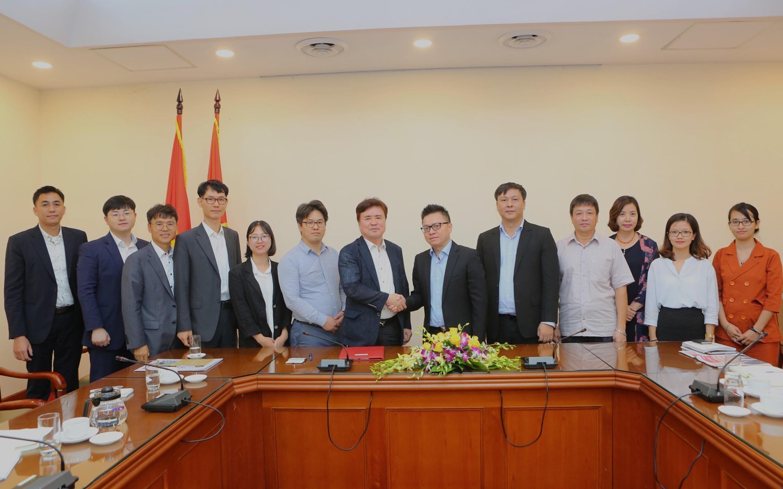 Tgroup with VNA, TTXVN and Aju Korea