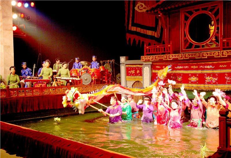 Biểu diễn Múa Rối Nước tại Hội An