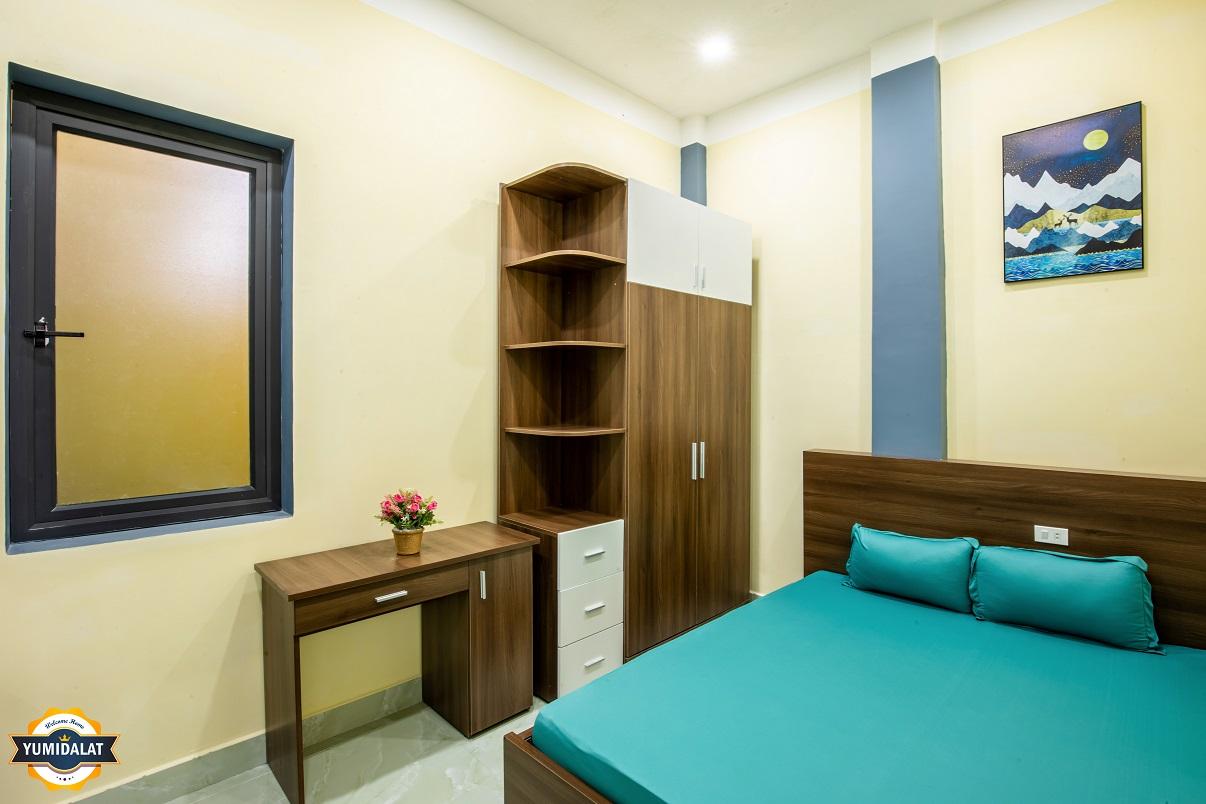Căn hộ 1 phòng ngủ, 1 phòng làm việc [Tầng 1]