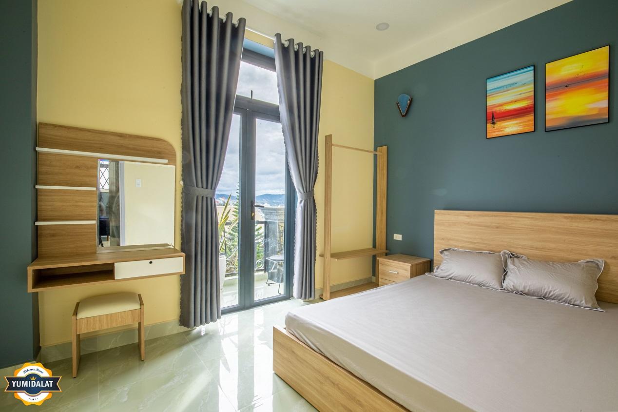 Căn hộ 2 phòng ngủ [Tầng 2,3 - Có ban công]