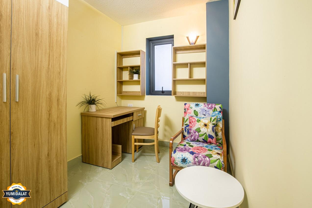 Căn hộ 1 phòng ngủ, 1 phòng làm việc [Tầng 2,3 - Có ban công]
