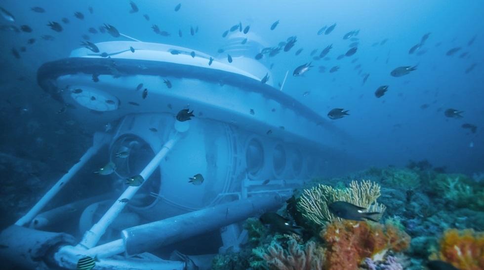 Khám phá đại dương bằng tàu ngầm Seowipo