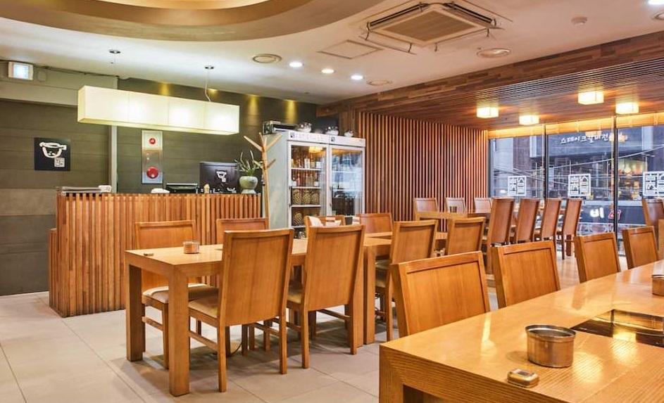 Ẩm thực cá nóc tại nhà hàng Samho Bokjip, Seoul