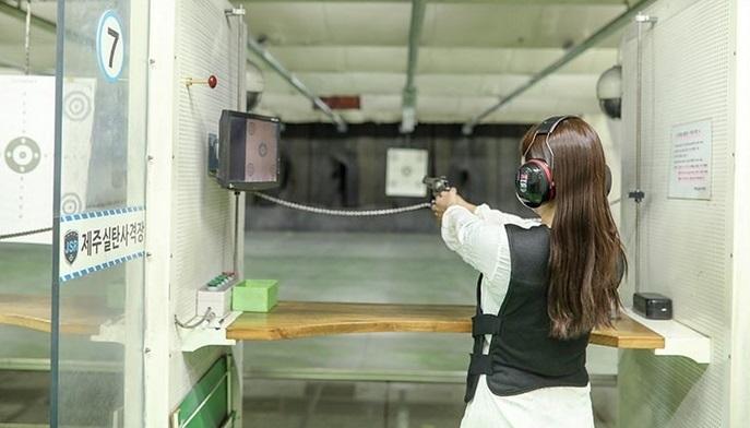 Trải nghiệm bắn súng thật ở Myeongdong