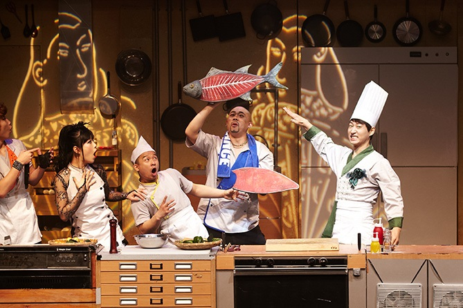 Chương trình CHEF: Bibap show ở Seoul