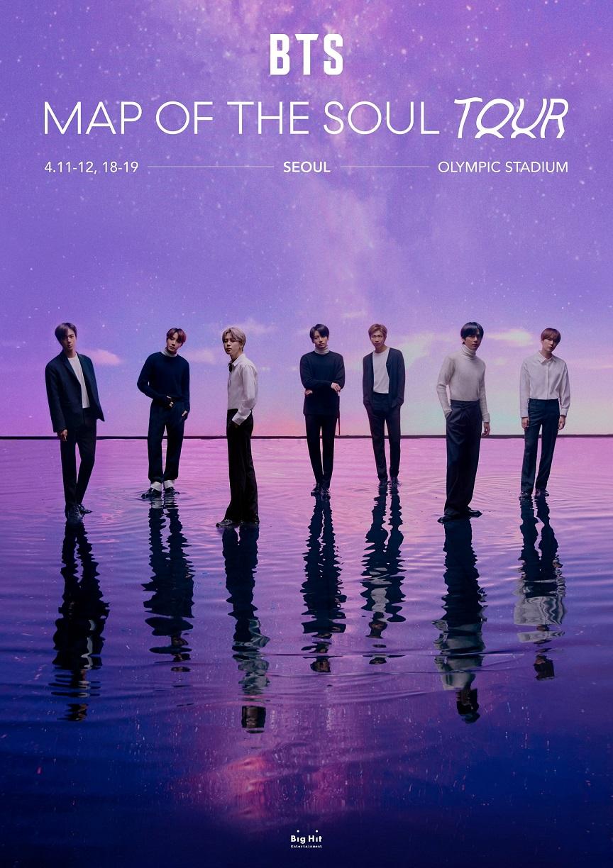 Quẫy cùng TGROUP tại BTS MAP OF THE SEOUL TOUR