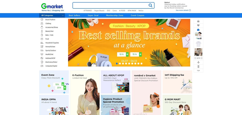 Dịch vụ order hàng chính hãng Hàn Quốc